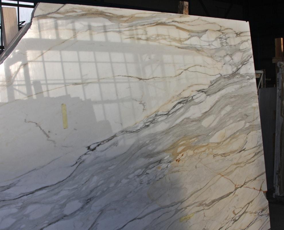 Zaawansowane Calacatta Gold - Płytki kamienne, marmurowe, granitowe AU18