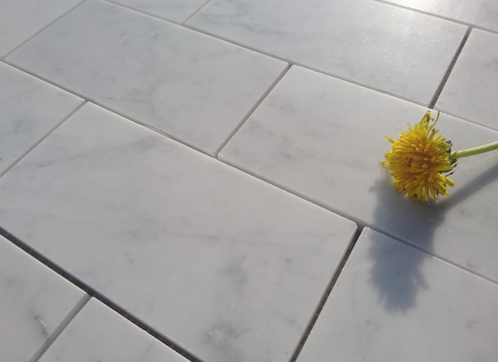 Mozaika SUBWAY Bianco Carrara C
