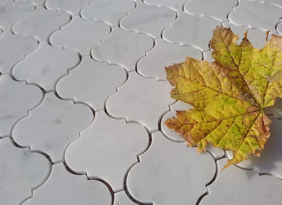 Mozaika ARABESQUE Calacatta