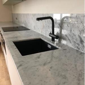 Realizacja Bianco Carrara #2cm