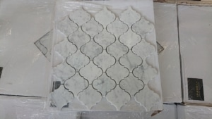 Bianco Carrara C Arabesque