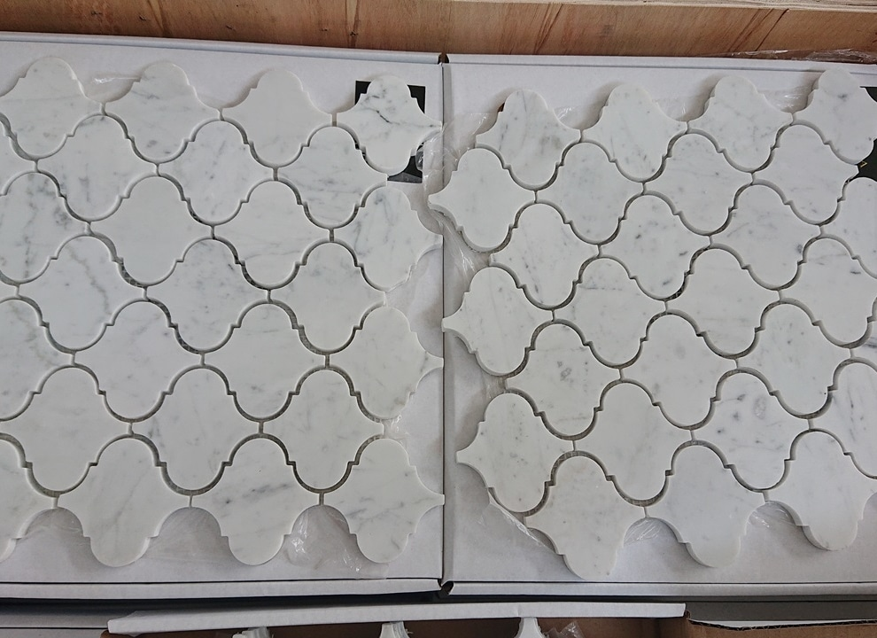 Arabesque Bianco Carrara