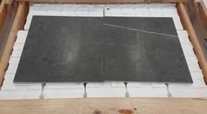 Pietra Grey honed tiles