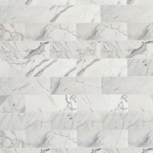 cegiełki marmurowe Statuario Venato