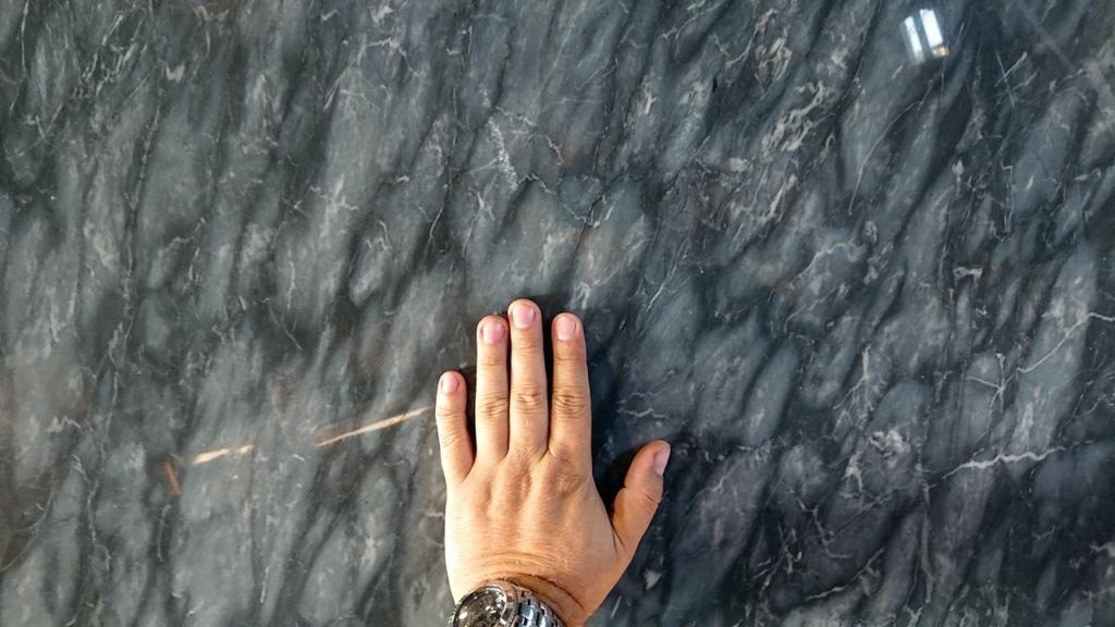 Calacatta Blue, płyta marmurowa
