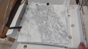 Bianco Carrara Gioia Stock