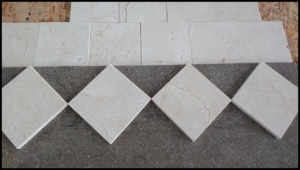 Mozaika CREMA MARFIL matowa