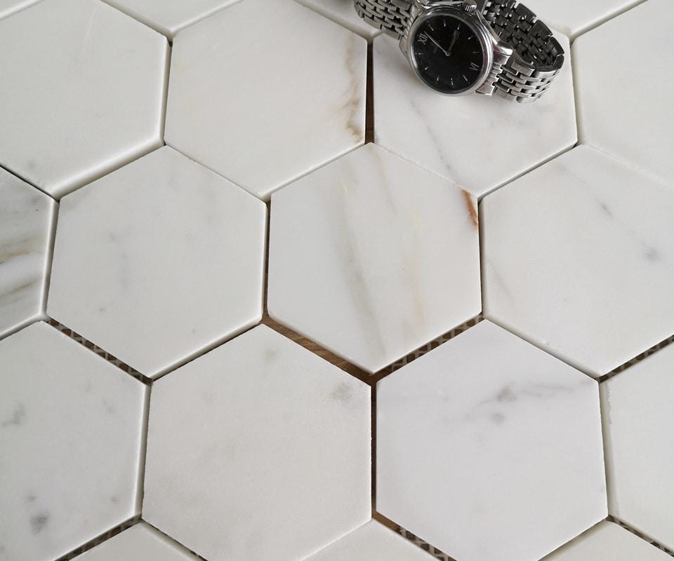 Hexagony Calacatta Premium