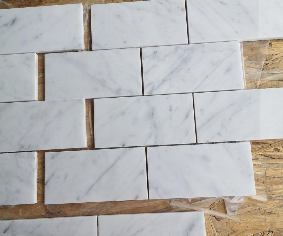 Subway Bianco Carrara poler