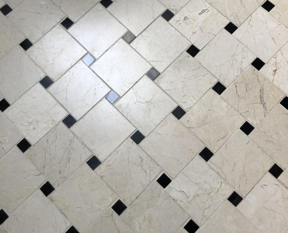 crema marfil mozaika