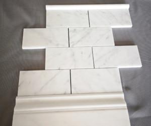 Profil PENCIL Bianco Carrara, matowy
